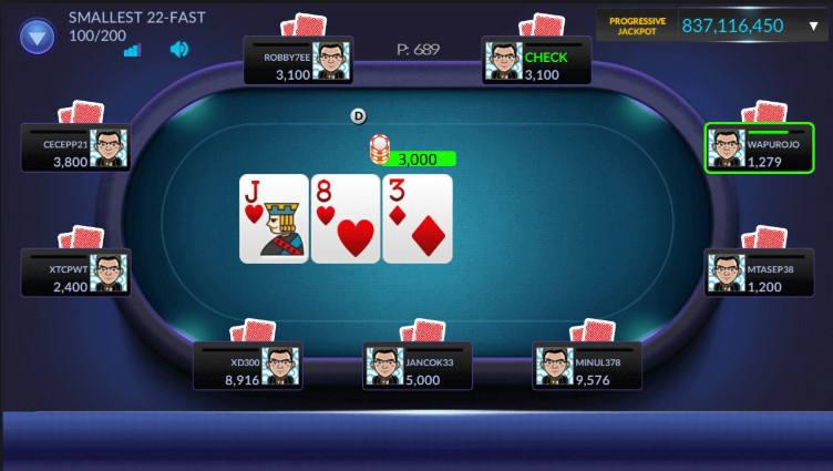 Poker sbobet dengan taruhan besar